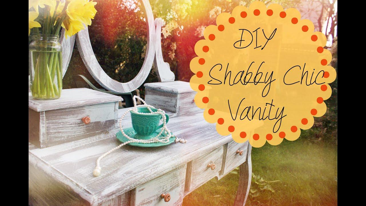 DIY Shabby Chic Vanity