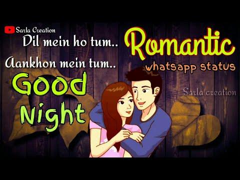 💖Good Night wish to lover💖 whatsapp status video Hindi Punjabi 😘