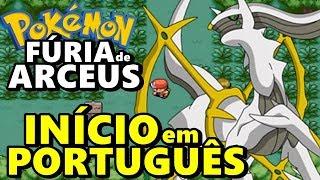 Pokemon Fúria de Arceus (Hack Rom - GBA) - O Início em Português