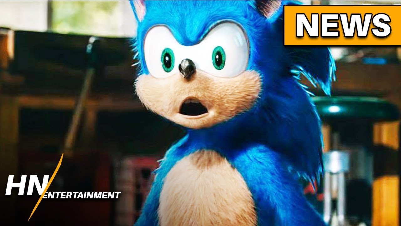 Sonic The Hedgehog Movie Delayed Following Backlash New Design Changes Youtube