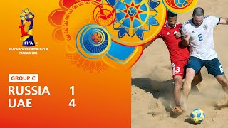 Russia v United Arab Emirates Highlights FIFA Beach Soccer World Cup Paraguay 2019