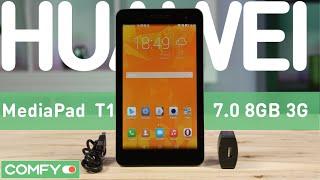 Huawei MediaPad Т1 7.0 8GB 3G - небольшой планшет с поддержкой телефонии - Видеодемонстрация
