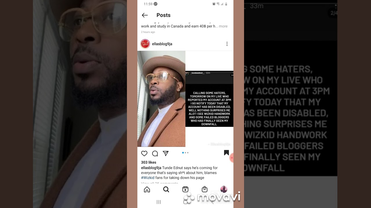 Tundeednut Instagram Reported And Blocked By With Wizkid Fans Youtube Some influencers consider that the shadow banning is just a theory and there is no categorical proof that this is happening on instagram. tundeednut instagram reported and