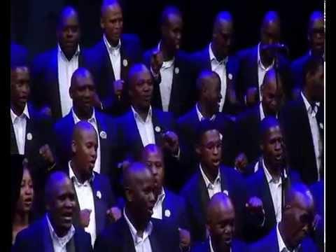 Gauteng Choristers performs uNongqawuse (Xhosa traditional song)