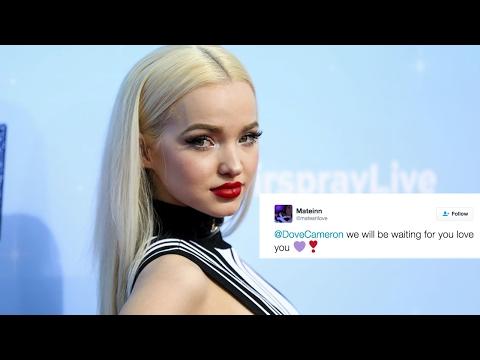 """Dove Cameron Needs a Break from Social Media: """"I"""