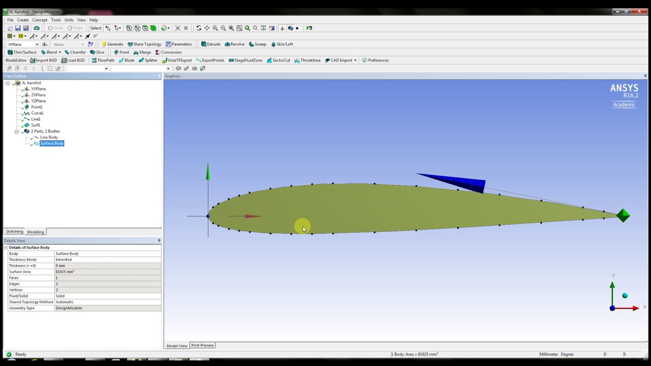Ansys Design Modeler- How to Import Points in Design modeler from Excel or  Notepad