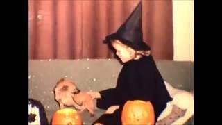 8mm Home Movie 1964 Halloween