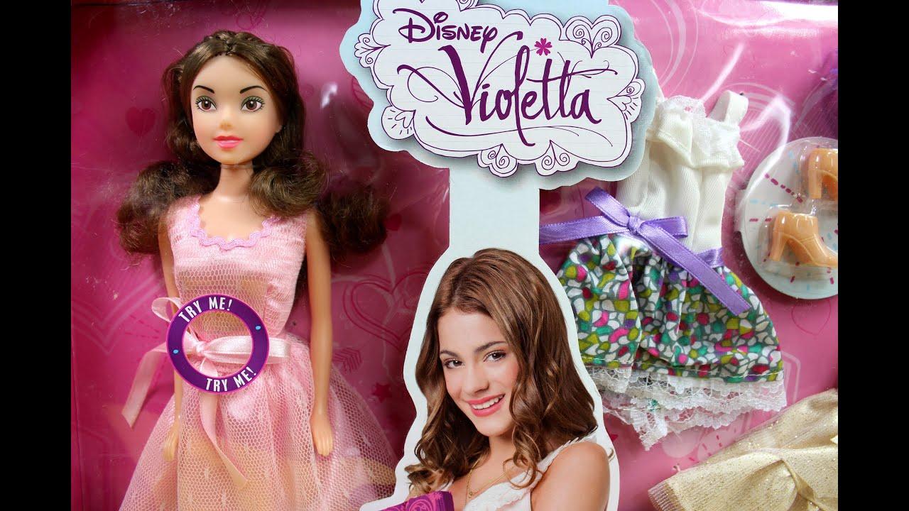 Simba - Disney Violetta - Violetta Music Doll - 5730364 - YouTube