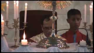 Eucharistic Adoration in Khasi at Shillong on universal adoration day part 1