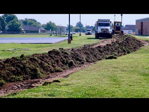 Construction begins on bus lane at John Marshall Middle School - OKCPS