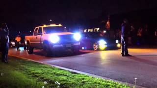 The Runs (Street racing) Diesel Truck VS Civic