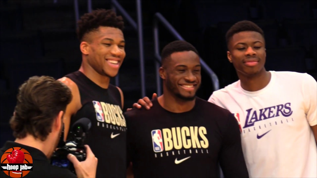 Giannis Antetokounmpo Hanging Out With His Brothers ...