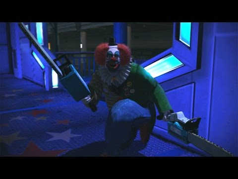 Dead Rising 1 Remastered PC - Adam the Clown Psychopath + Mini Chainsaw books