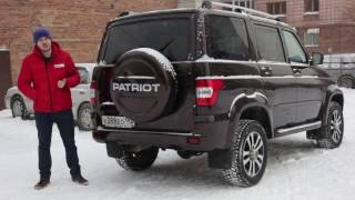 УАЗ Патриот 2015 года от РДМ-Импорт г. Новосибирск.