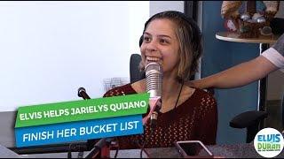 Elvis Duran Helps Jarielys Quijano with Her Life's Bucket List | Elvis Duran Exclusive