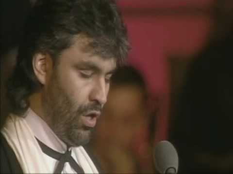 """Andrea Bocelli """"O Sole Mio """" Live on stage in Tuscany"""