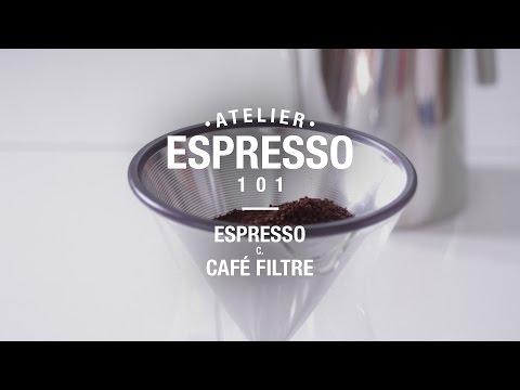 Espresso 101 - Espresso c. café filtre