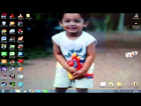 การเปลี่ยนภาพพื้นหลังหน้าจอ Desktop [Windows 7]