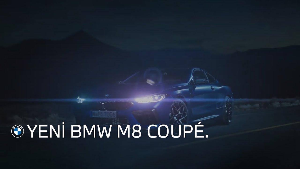 CANAVARLAR GERÇEKTEN VAR: YENİ BMW M8 COUPÉ.