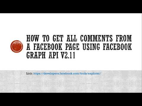 Get All Comments From A Facebook Page Using Facebook Graph API