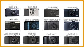 필름 색감 디지털 카메라 리코 GR2 Ι 필덕이 사용하…