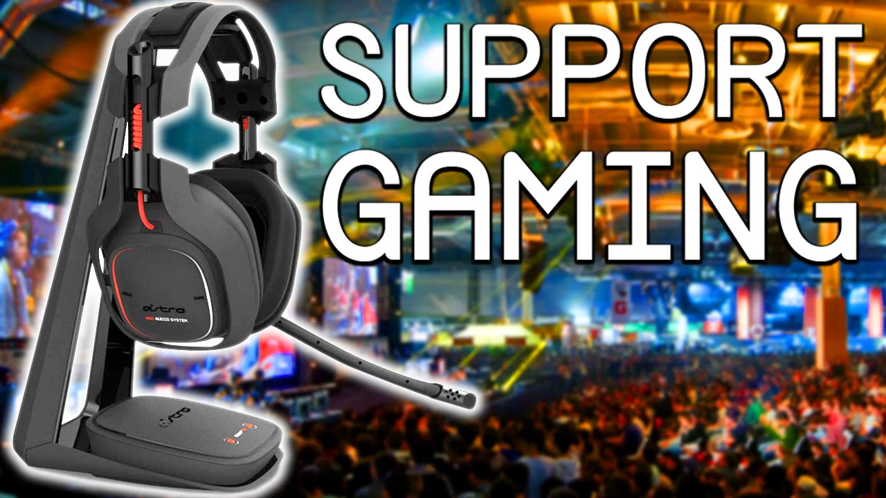 support pour casque gaming enermax ehb001 youtube. Black Bedroom Furniture Sets. Home Design Ideas