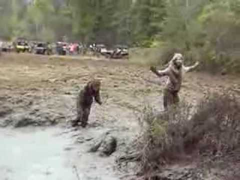 sexist nude girls in mud
