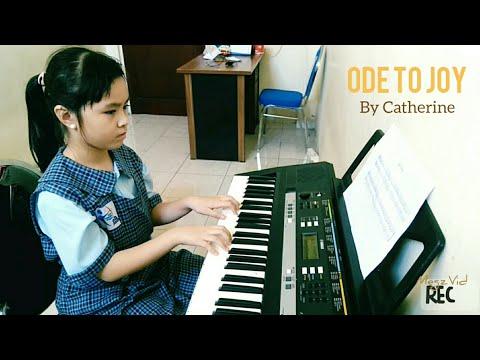 Catherine - Ode to Joy - Christmas song piano cover - Anak Panah Elementary School Surabaya