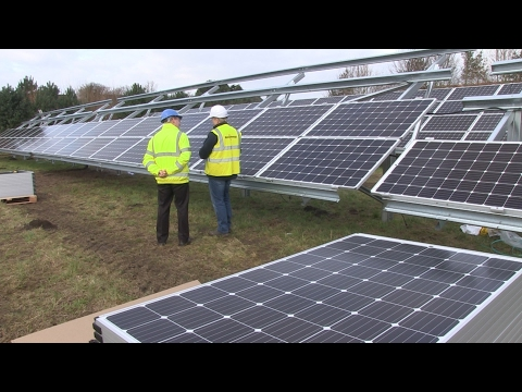 A stellar idea: The Norwich business planning to use 6,500 solar panels to power its future