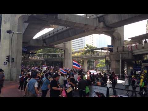 Anti government protests in Bangkok, Thailand