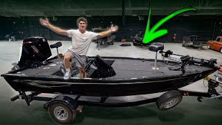 I Bought My DREAM BASS BOAT and It's INSANE! -- (FULL TOUR)