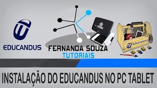Tutorial: Como baixar e instalar o Educandus no tablet do governo.