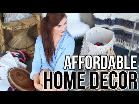 How I Decorated on a Budget: Home Decor Haul || Sarah Belle