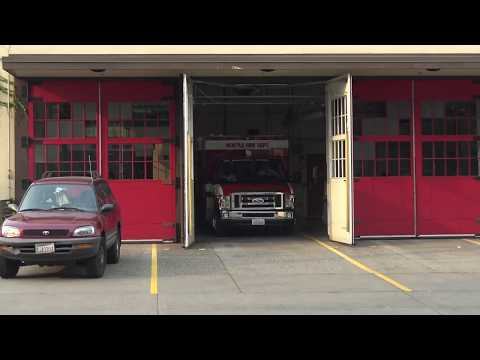 Seattle Fire Department - Medic 16 Responding