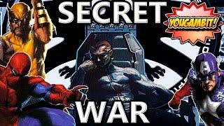 VIDEOCOMIC: LA GUERRA SECRETA MARVEL || SECRET WAR - Historia Completa