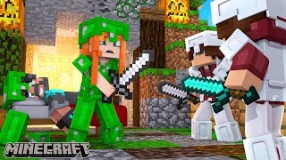 KEEP ME SAFE PLS!!! | Minecraft Bed Wars