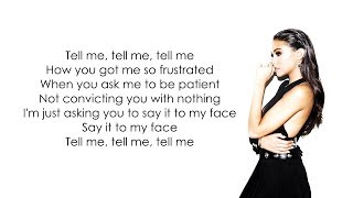Madison Beer - Say It To My Face (Official Lyrics)