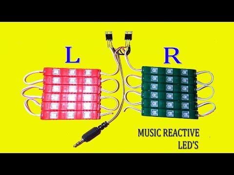 Powerful Music reactive LED Light