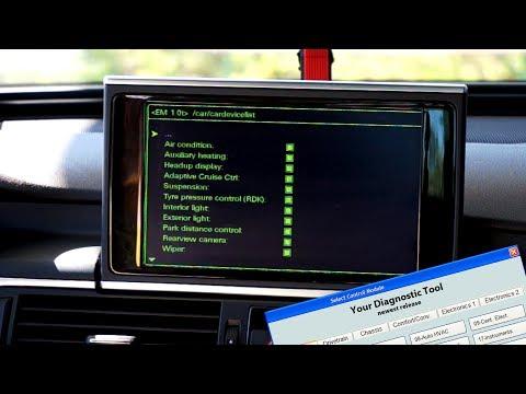 Audi Mmi 3g Hidden Green Menu Activation With Vcds