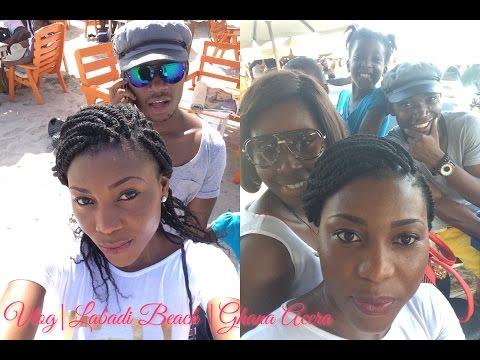 Vlog|Labadi Beach |Ghana Accra