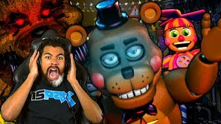 THERE ARE TOO MANY ANIMATRONICS IN THIS GAME!! | FNAF: Ultimate Custom Night | #1