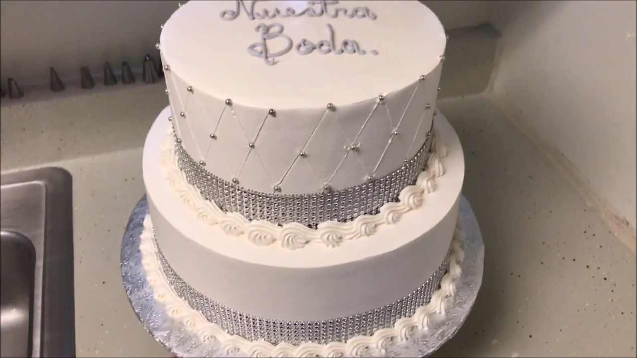 Como Decorar Un Pastel De Boda Civil Facil Y Rapido