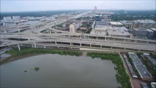 I10 and Beltway 8 Flooding - Skyline Drones inc.
