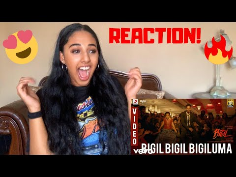 Bigil Bigil Bigiluma - Video Song Reaction| Thalapathy Vijay | Nayathara | A.R Rahman