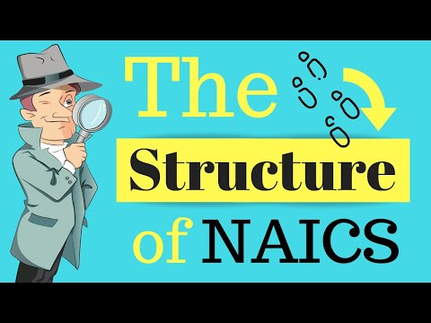 The Structure Of NAICS | Class Codes