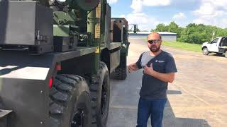 EX Military MK48 / MK15 Oshkosh 8X8 Heavy Recover Wrecker For Sale @ Midwest Military Equipment