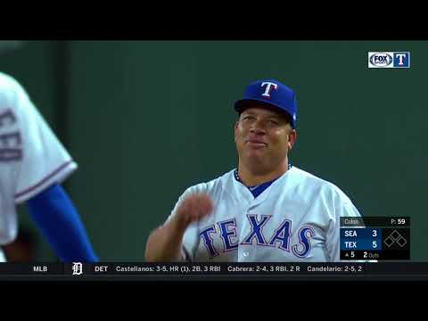 Bartolo Beats Dee Gordon To First Base