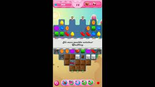 How to clear Candy crush saga level 117 without using Boosters