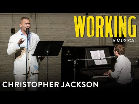 "Christopher Jackson Sings ""Lovin' Al"" From Working: A Musical"