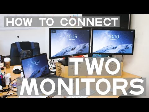 Hook up multiple monitors to imac